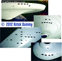 Classic Starship 1:350 windows paint masks from Aztek Dummy