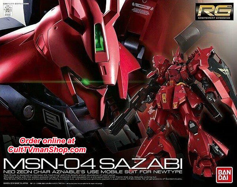 Msn 04 Sazabi From Char S Counterattack Rg 29 1 144 Sca