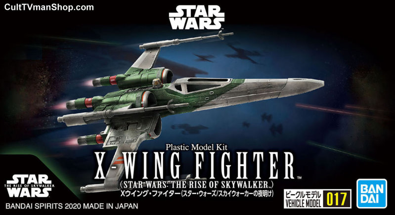 NEW: Rise of Skywalker X-Wing - mini-kit 017 from Bandai