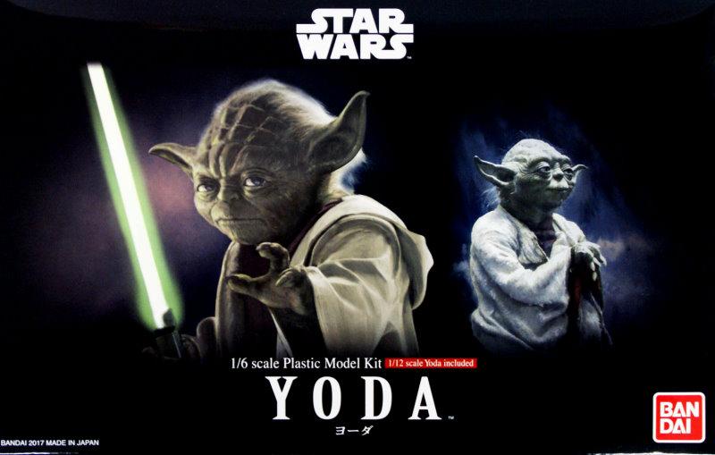Star Wars Yoda 1//6 Model kit Bandai Japan NEW IN STOCK ***