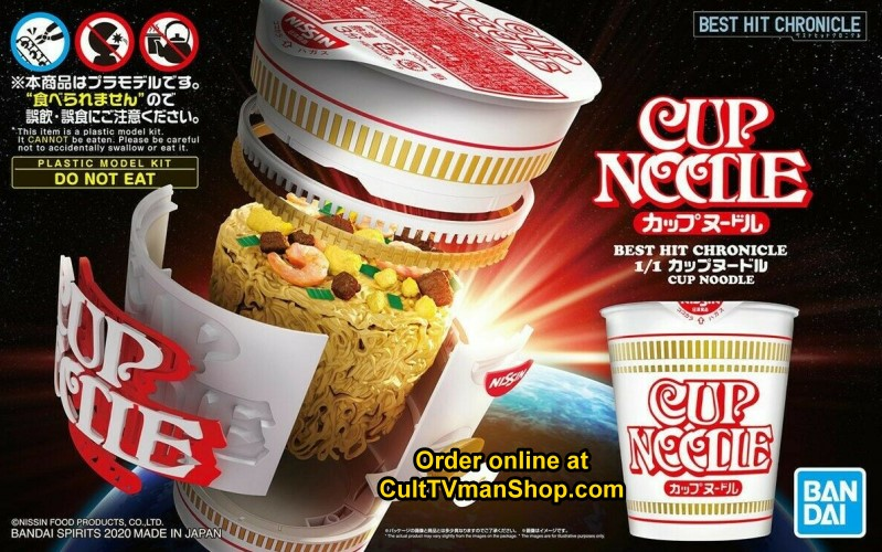Cup of Noodles 1:1 scale kit from Bandai