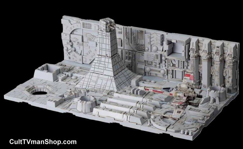 Death Star Attack 1:144 scale diorama from Bandai