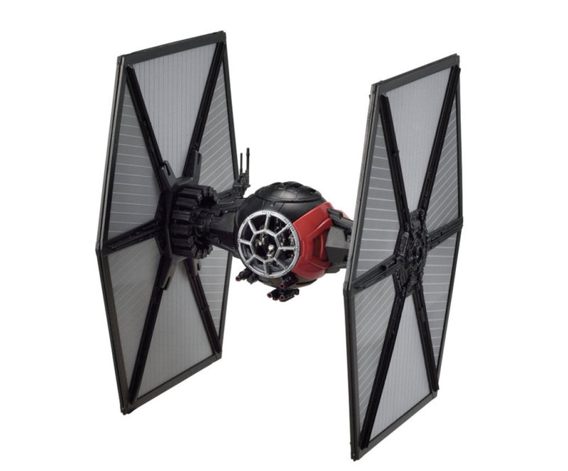 first order special forces tie fighter 1 72 scale kit from bandai