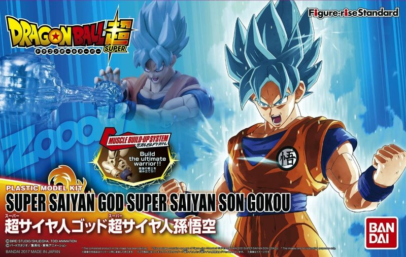 Son Gokou - Super Saiyan Blue
