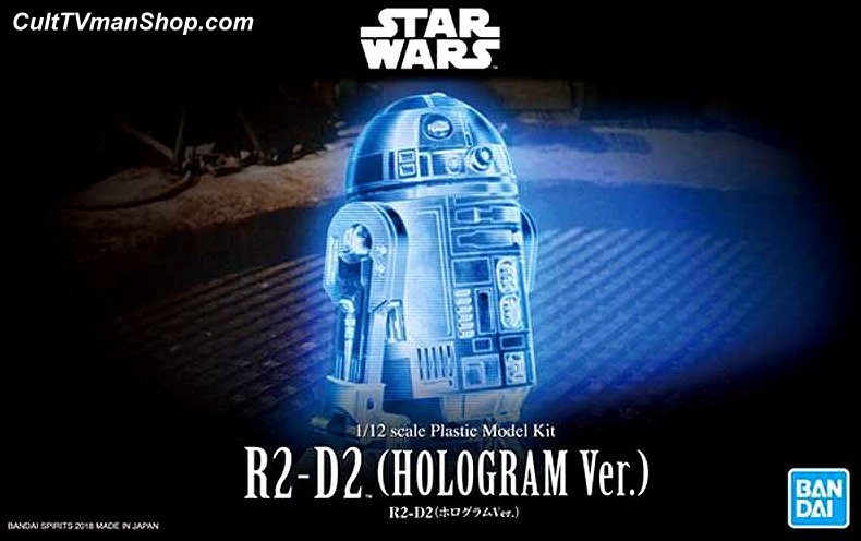 R2-D2 Hologram version 1:12  from Bandai