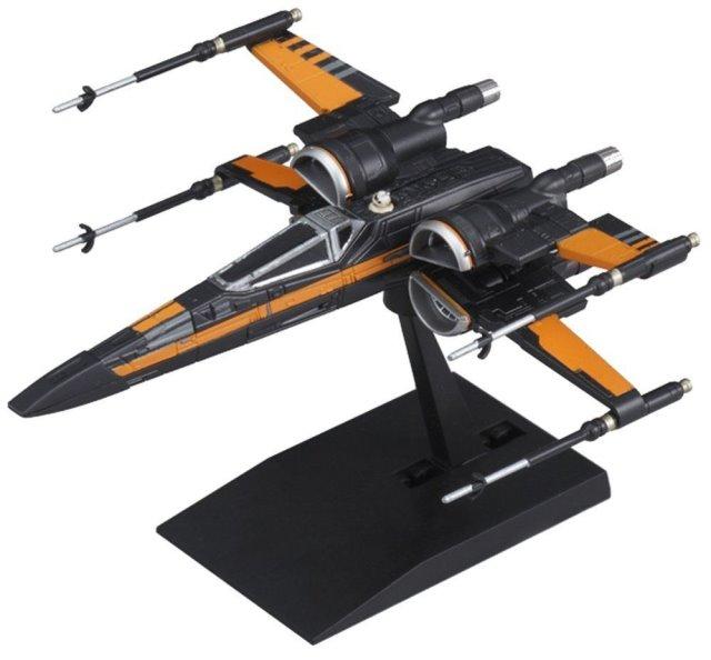 Star Wars Poe's X-Wing mini-kit 003 from Bandai