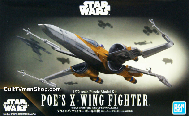 Poe S X Wing With R2 D2 The Rise Skywalker 1 72 From B