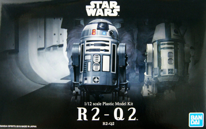 R2-Q2 Droid Collection  1:12  from Bandai
