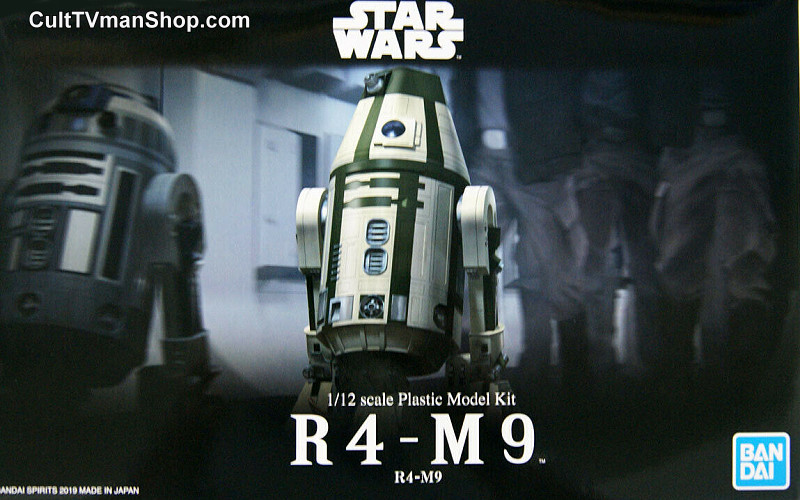 R4-M9 Droid Collection  1:12  from Bandai