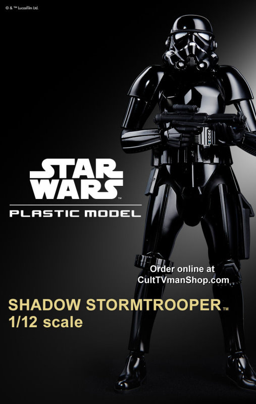 Shadow Stormtrooper 1:12 scale from Bandai