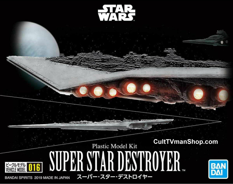 Super Star Destroyer 1:1,000,000  from Bandai