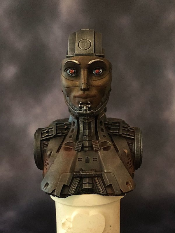 Iron Maiden - MicroMania Bust from Black Heart