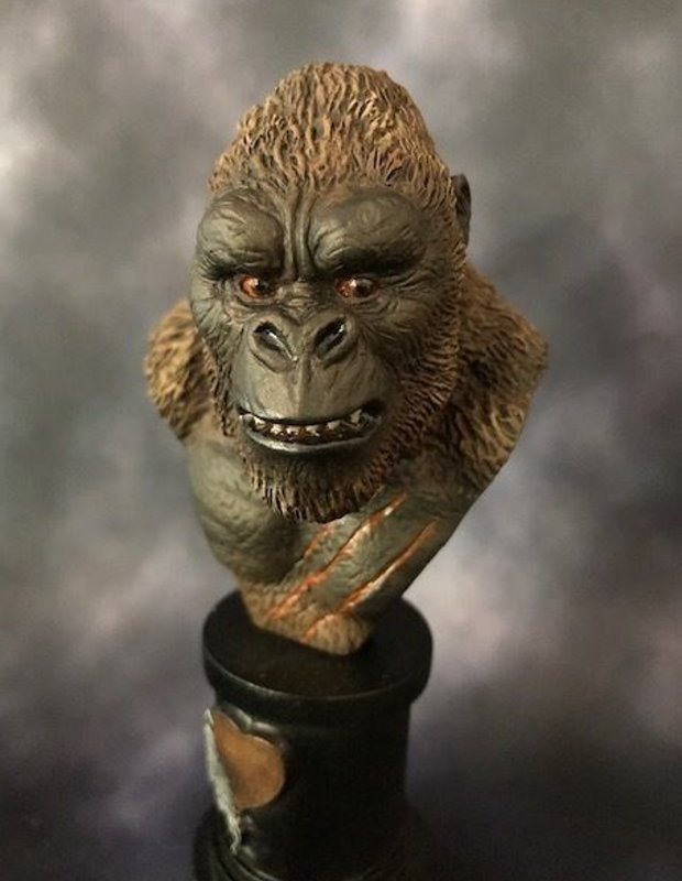 Skull Island Kong - MicroMania Bust from Black Heart