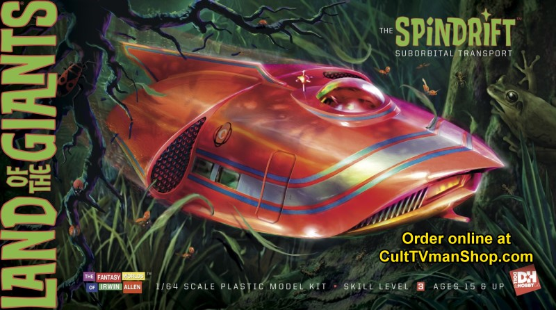 PREORDER Land of the Giants Spindrift - 1:64 scale from Doll and Hobby GA  - $33.99  PREORDER RESERVATION