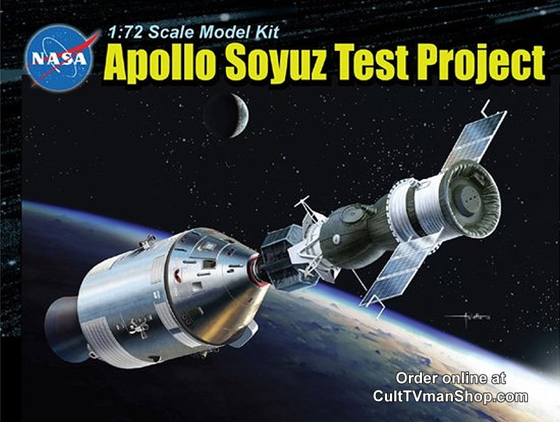 Apollo Soyuz 1:72 scale KIT from Dragon