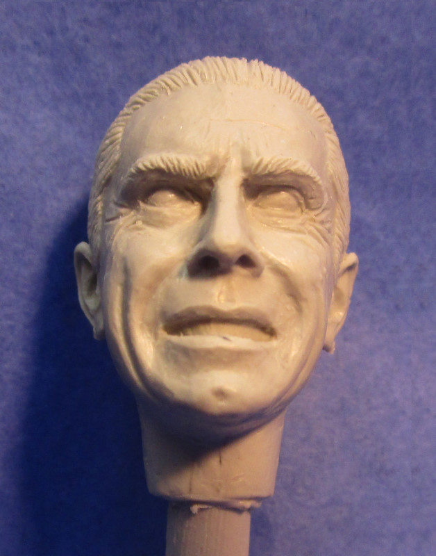 Classic Vampire (Haunted Manor) replacement head -1:12 scale - from Escape Hatch Hobbies