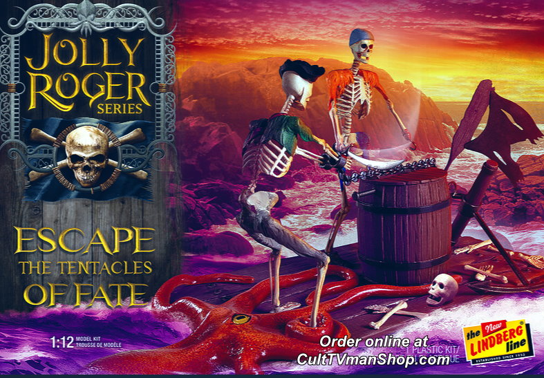 Jolly Roger: Escape the Tentacles of Fate 1:12 - from Polar Lights/Round 2 - PREORDER RESERVATION