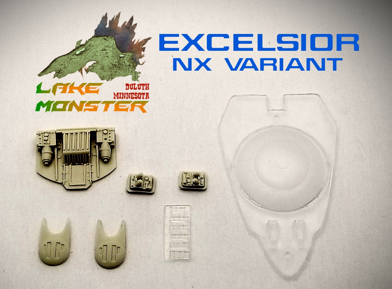 Excelsior (NX version) detail set from Lake Monster