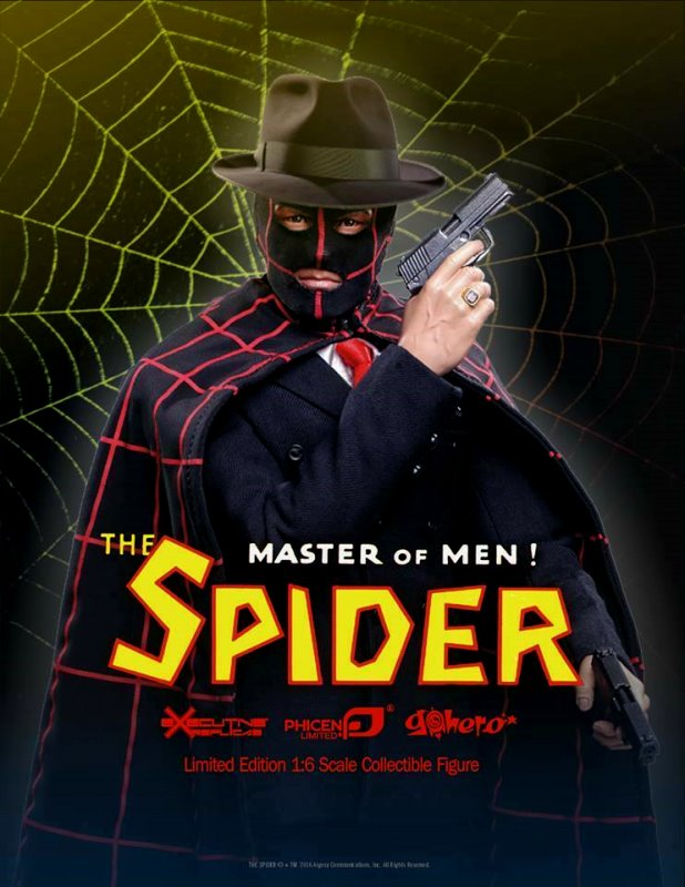 The Spider - Premium 1:6 action figure from Executive Replicas