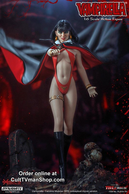 Caroline Munro as Vampirella action figure