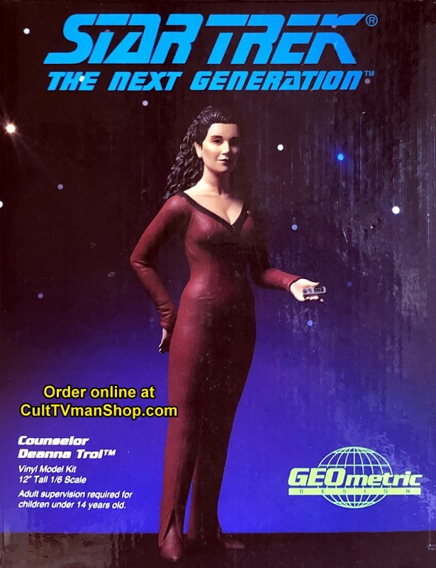 Counselor Deanna Troi - ST-TNG - 1:6 scale vinyl kit  from Geometric Designs