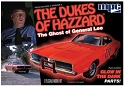 Dukes of Hazzard Ghost of General Lee 1:25 from MPC/Round 2  SCRATCH AND DENT