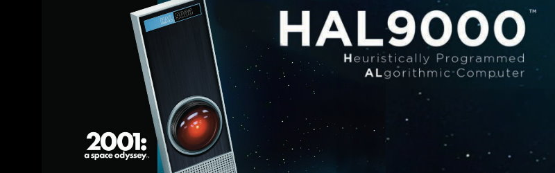 HAL 9000 model kit from Moebius Models