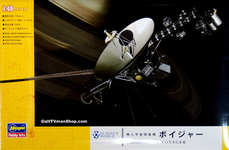 Voyager Space Probe 1:48 from Hasegawa