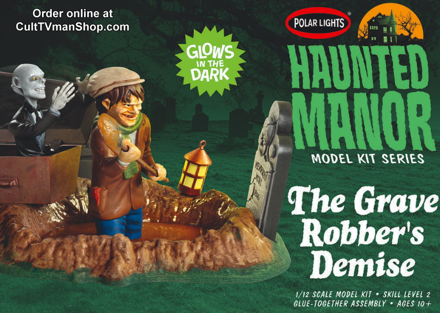 Haunted Manor: The Grave Robber's Demise  from Round 2/Polar Lights  SCRATCH AND DENT
