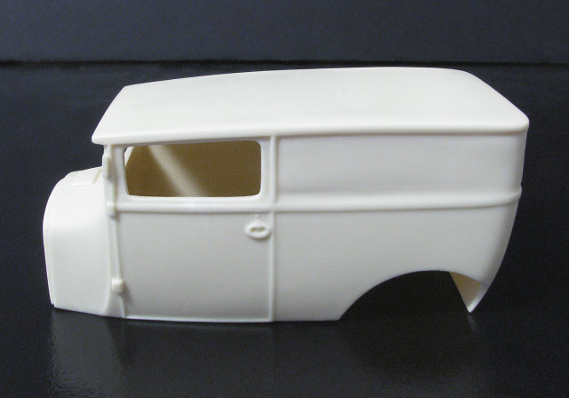 "1926 Ford ""T"" Sedan Delivery 1:25  resin car body from Jimmy Flintstone"