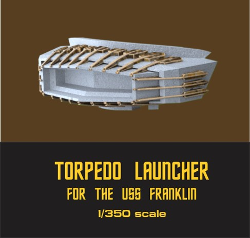 Franklin photon launcher 1:350 scale from JTGraphics