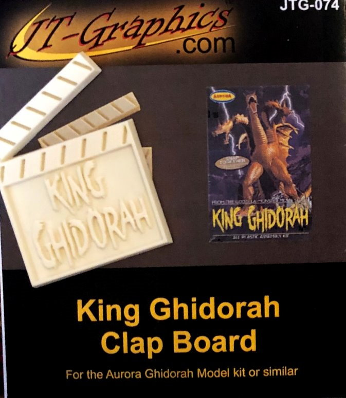 Monsters of the Movies King G nameplate from Cult of Personality/JTGraphics