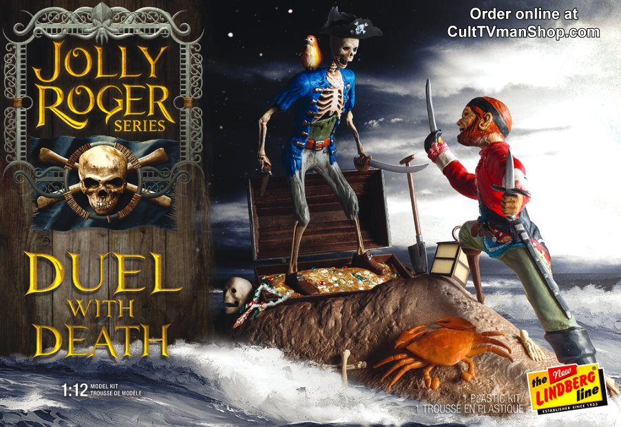 NEW Jolly Roger: Duel with Death 1:12 - from Polar Lights/Round 2