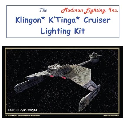K'Tinga Battle Cruiser  Light Kit from Madman Lighting