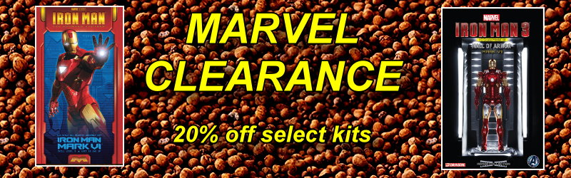 Marvel Clearance Sale 20% off