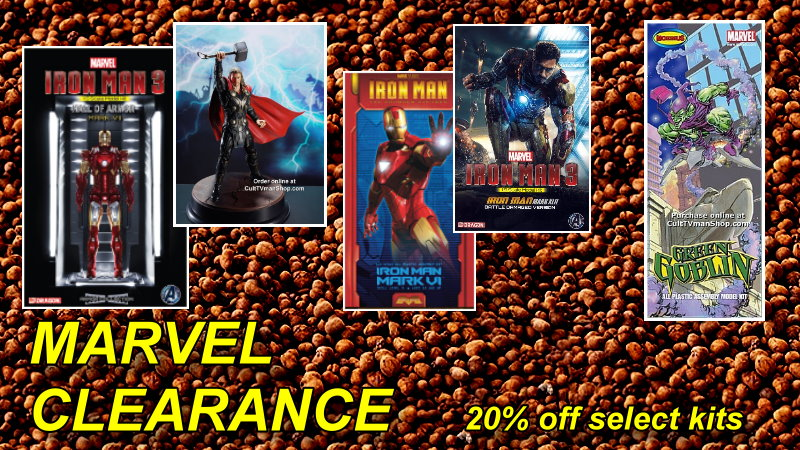 Marvel Clearnce Sale 20% off