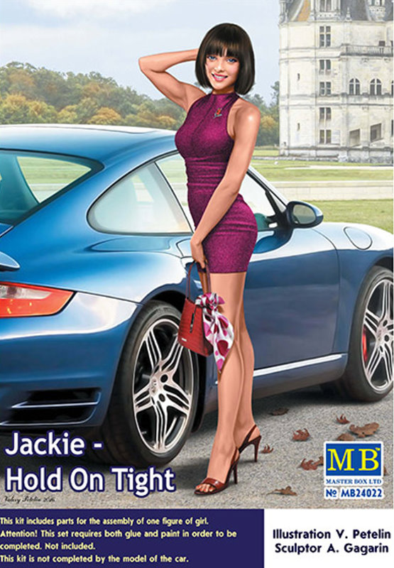 Jackie - Dangerous Curves Series  1:24 scale from Master Box