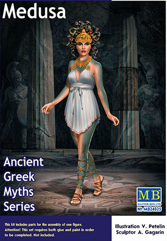 Greek Myths - Medusa 1:24 scale from Master Box