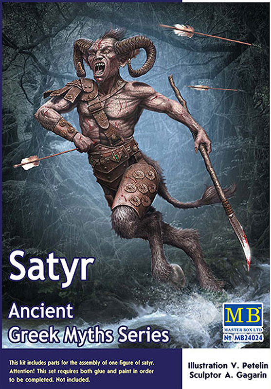 Greek Myths The Satyr 124 scale from Master Box