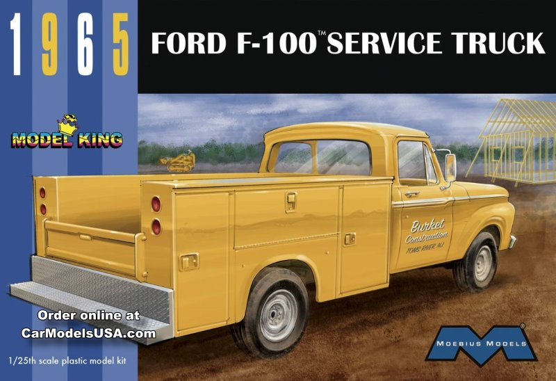 1965 Ford F-100 Service Truck from Model King/Moebius