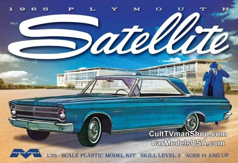1965 Plymouth Satellite 1:25 from Moebius Models