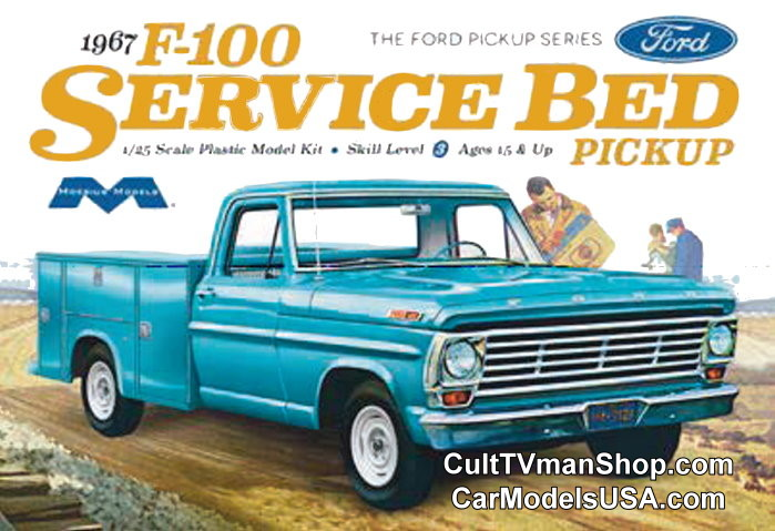 NEW: 1967 Ford F-100 Service Truck 1:25 from Moebius Models