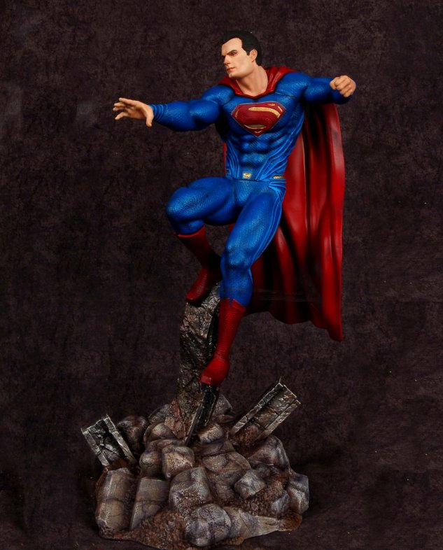 Superman Batman V Superman 18 Statue From Moebius Models
