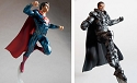 Man of Steel Superman and General Zod SDCC exclusive resin display STATUE from Moebius