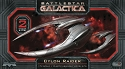 Cylon Raider 1:72 scale 2-pack - Battlestar Galactica from Moebius