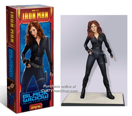 Black Widow from Iron Man 2 1:8 scale from Moebius Models