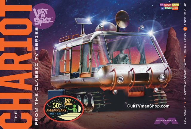 Lost in Space Chariot - 50th Anniversary  reissue 1:24 scale from Moebius Models