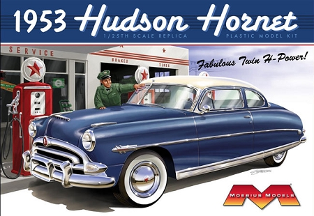 1953 Hudson Hornet 1:25 from Moebius Models