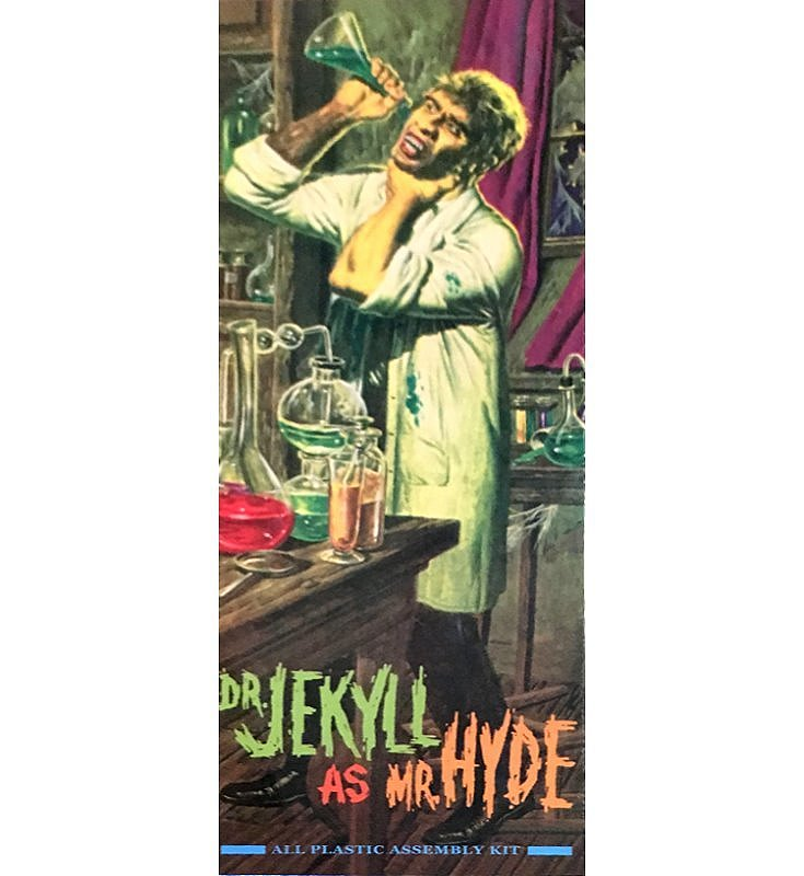 Dr. Jekyll as Mr. Hyde - Aurora reissue - Original 2007 release - from Moebius Models