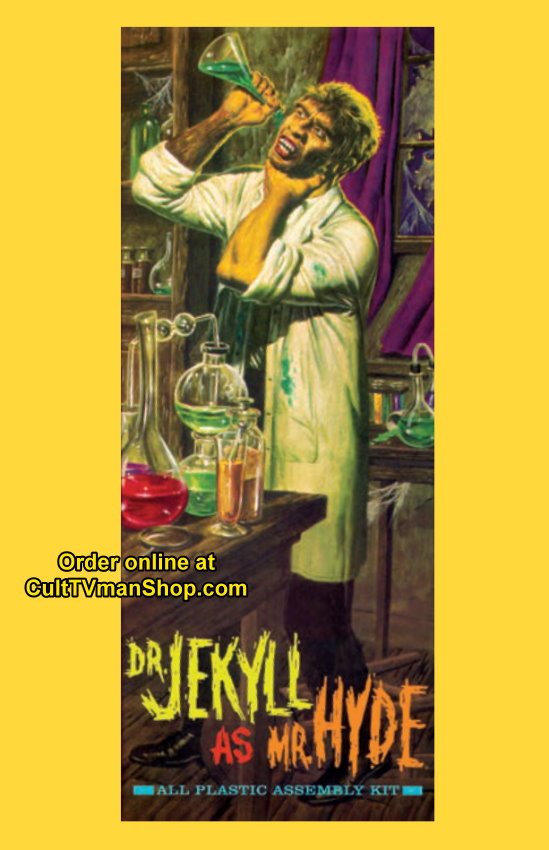 Dr. Jekyll as Mr. Hyde